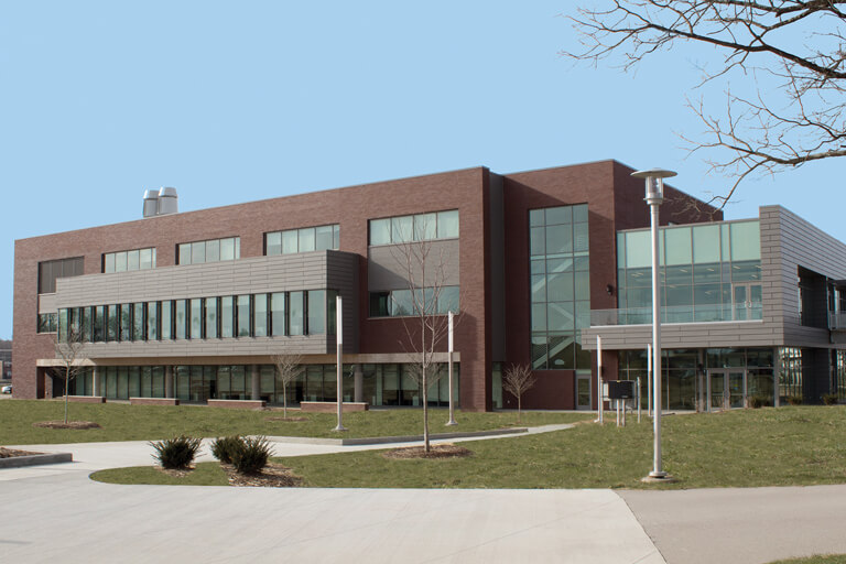 shot of bctc building