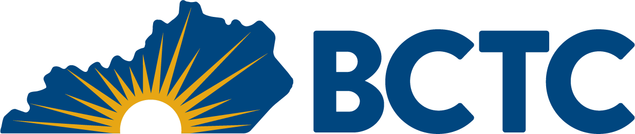 horizontal logo with bctc acronym