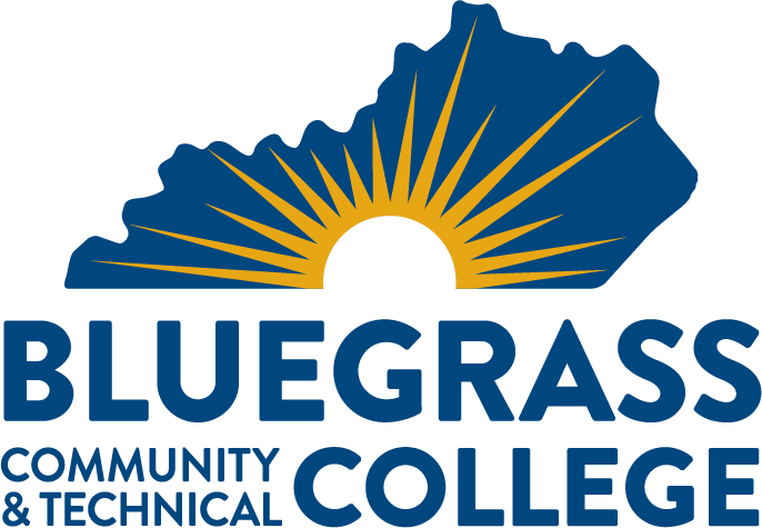 vertical bluegrass community and technical college logo