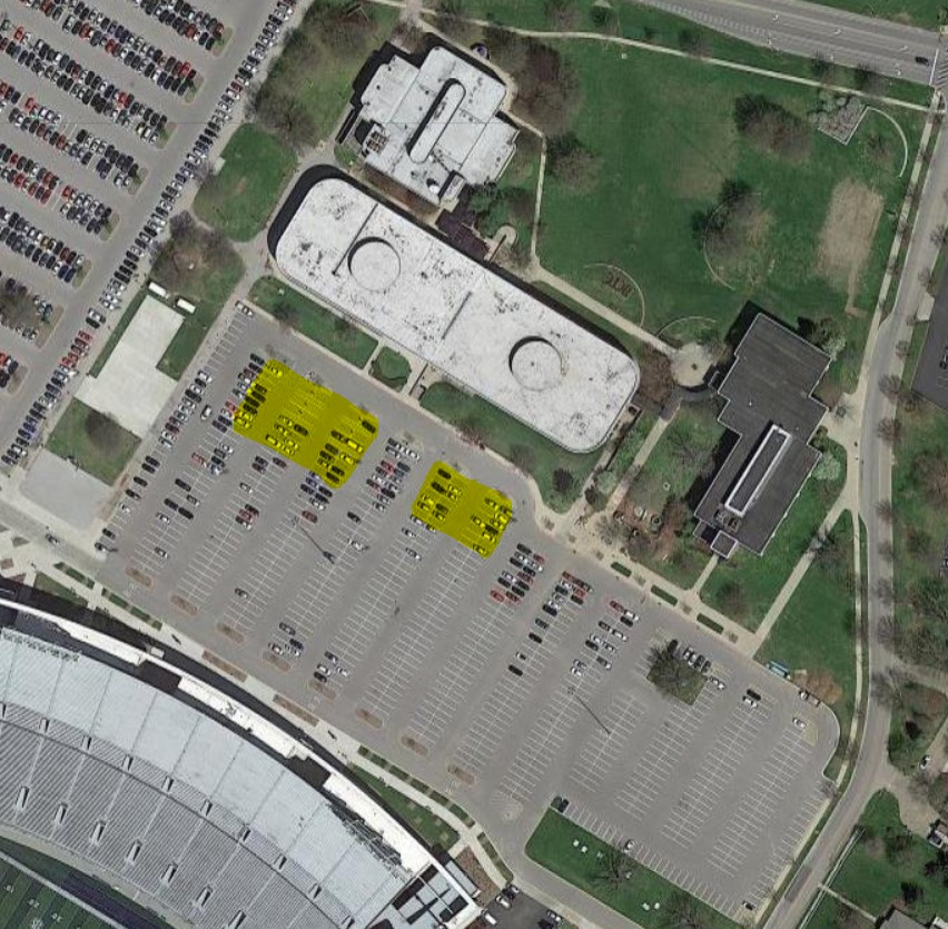 cooper campus wireless coverage in parking lot
