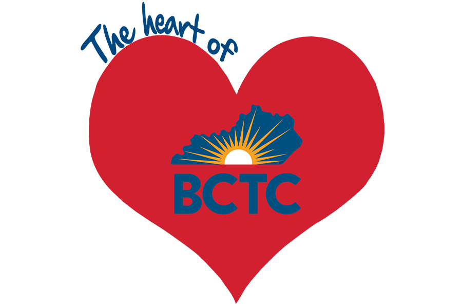 The HEART of BCTC logo