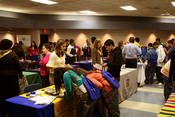 Photo of Students at the Latino Student College Fair