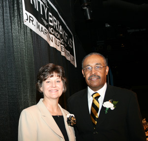Photo of Dr. Augusta Julian and William H. Wilson