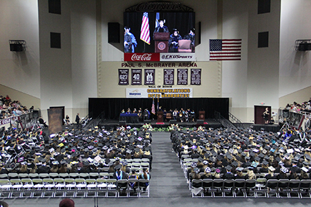 photo of BCTC Commencement from 2018