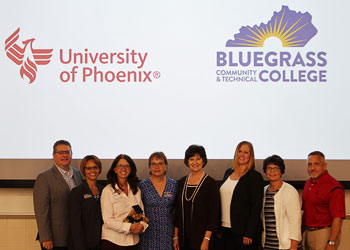 BCTC and University of Phoenix signing partnership for Nursing