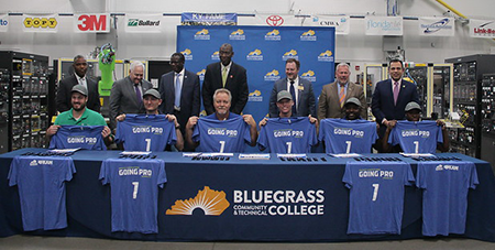 BCTC Graduates signed with Montaplast