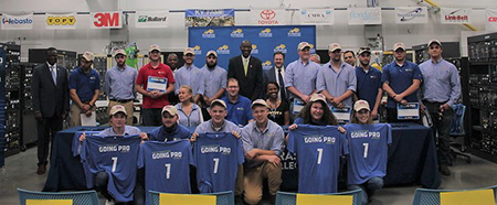 BCTC Graduates signed with Toyota